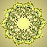 Decorative ornamental pattern background