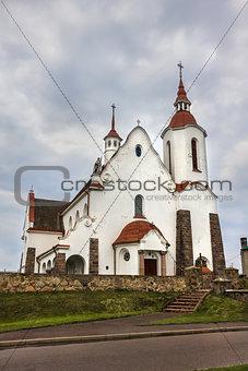 Catholic Church in Soly, Grodno region, Belarus.