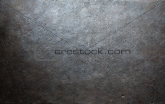 grunge forged metal background or texture