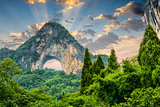 Moon Hill in China