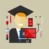 medical health college education class graduate
