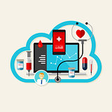 online cloud medical health internet medication