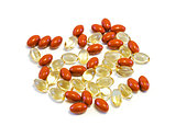 Nutritional supplement capsules.
