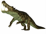 Kaprosuchus over White