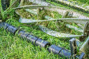 blades hand lawn mower