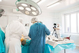man shooting the surgeon operation 2