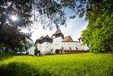 Fortified Church at Viscri in Transylvania