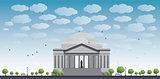 Thomas Jefferson Memorial, in Washington, DC, USA