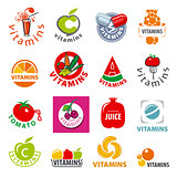 biggest collection of vector logos vitamins
