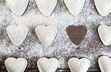 Dumplings hearts