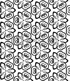 abstract vintage wallpaper pattern seamless background.