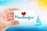 Summer Vacation on Montenegro Beach