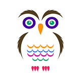 Simple owl icon
