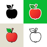 Apple design elements