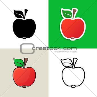 Apple design elements