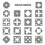 Square Celtic Knots