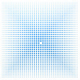 Blue dot with white background