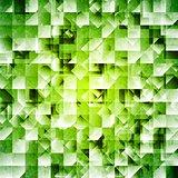 Tech green iridescent background