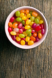 jelly beans in bowl