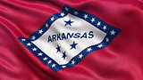 US state flag of Arkansas