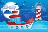 Boat theme image 1