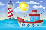 Boat theme image 2