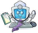 Computer doctor theme image 1