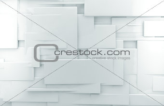 abstract modern wall architecture