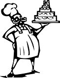 Wedding cake Chef