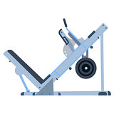 Trainer for fitness and weightlifting in the gym