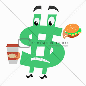 character currency symbol Russian ruble vodka national costume