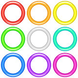 Color rings, set