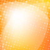 Orange light abstract background