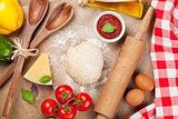 Pizza cooking ingredients