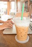 Internet serving at espresso shop