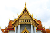 Traditional Thai architecture, Wat Benjamaborphit or Marble Temp