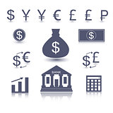 Vector money symbol