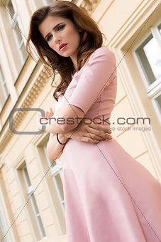 cute woman outdoor