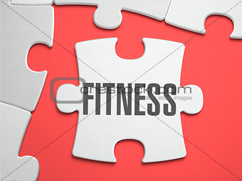 Fitness - Puzzle on the Place of Missing Pieces.