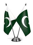 Pakistan - Miniature Flags.