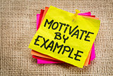 motivate by example note