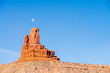 monument valley setting hen monument