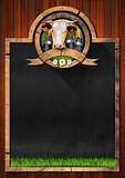 Blackboard for Dairy Products