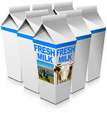 Fresh Milk - Beverage Cartons