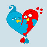 Vector Symbol of Love