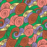 Seamless abstract filled pattern