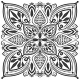 Monochrome oriental ornament