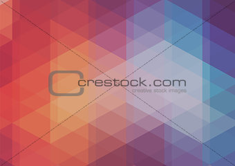 Abstract 2D mosaic triangle background
