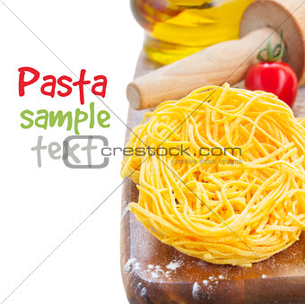 Tonarelli raw pasta