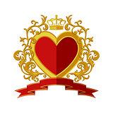 Coat of arms. Flat design